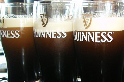 Try a Pint ot Two Of The Black Stuff And Even A Tour Of The Guinness Factory In Dublin