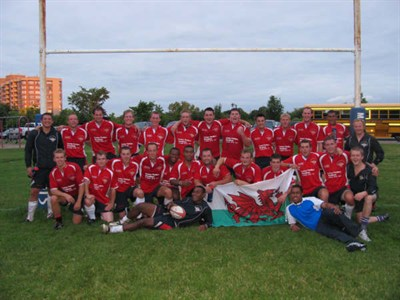 1st Queens Dragoon Guards RFC - Rugby Tour to Canada 2009