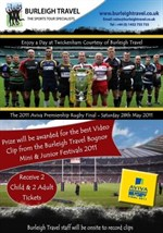 Aviva Premiership Ticket Tour Video Competition