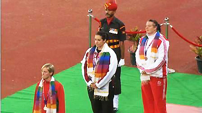 Zoe At The Commonwealth Games 4