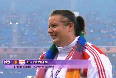 Zoe At The Commonwealth Games 1