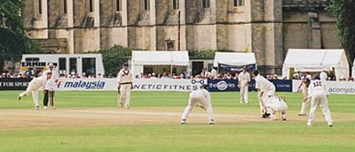 Cheltenham Cricket Festival Action