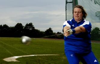 Zoe Derham; International Hammer Thrower