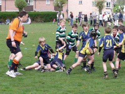 Wimborne Rugby Festival Action