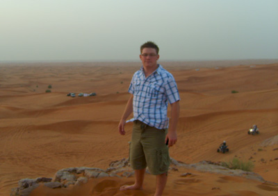 Enjoying The Desert Safari In Dubai