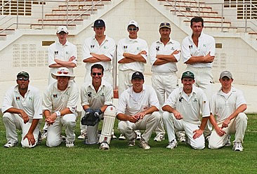 Kew CC Team Photo Barbados