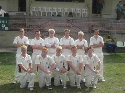 Sheffield University CC Barbados Team Photo