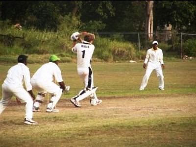 Southampton University Cricket Match in Barbados
