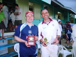 Winterbourne CC Barbados prize winners