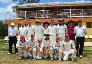 Winterbourne CC team photo Barbados