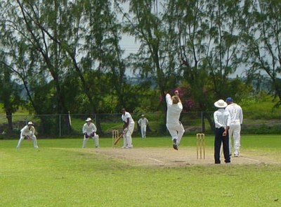 Ossett CC Action Photo Barbados