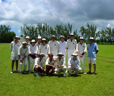 Ossett CC Team Barbados