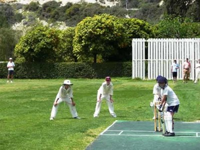 Heaton Mersey Cricket Action in Cyprus