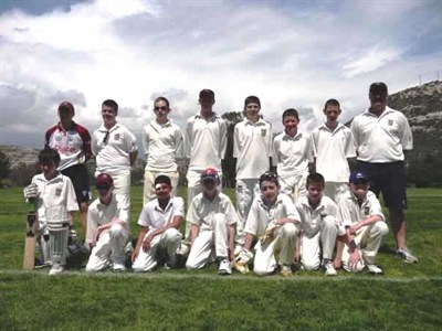 Heaton Mersey Team Cricket in Cyprus