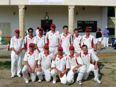 Clarendon CC Malta Team Photo