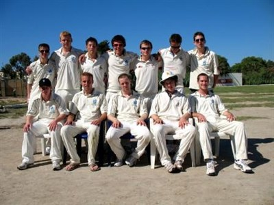 Portsmouth University Cricket Malta Team Photo