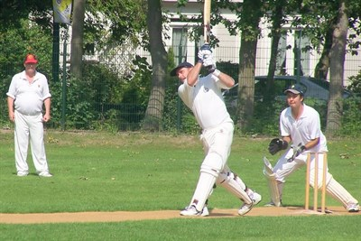 Meopham CC Amsterdam Batting Action
