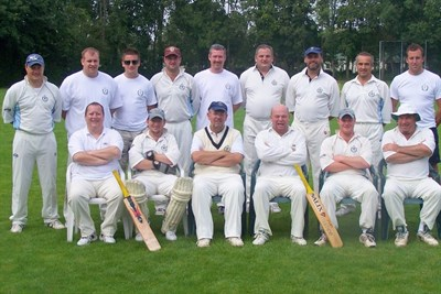 Meopham CC Team Photo Amsterdam