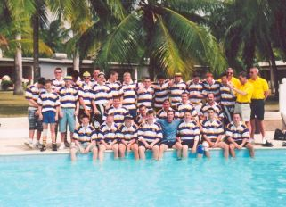 Uckfield Rugby Colts Team Barbados
