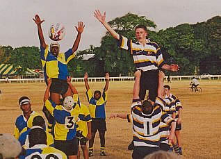 Uckfield Colts Rugby in Barbados