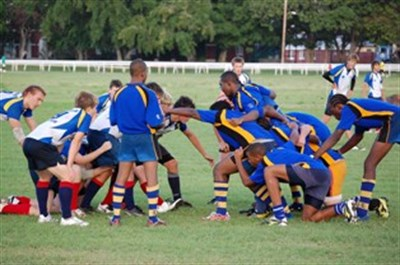 Ryde School Rugby game Barbados