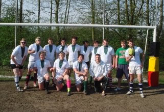 Exeter University Rugby Belgium Team