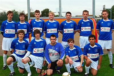 Hockley FC team picture