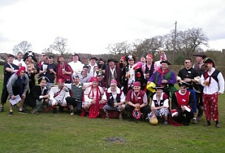 Burgess Hill Rugby Lille Fancy Dress