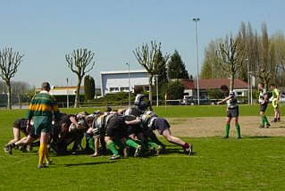 Minchinhampton RFC Scrum France