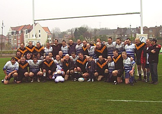 Rochford Hundred Vets Rugby Team France