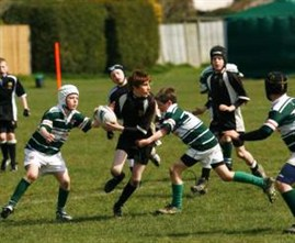 Action From The Bognor Mini Rugby Festival 2010