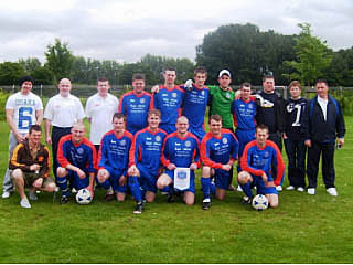 Lurcher FC Team Photo