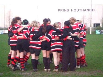 Uni of Essex WRFC Team Huddle Amsterdam