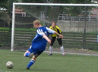 Sandridge rovers fc action shot