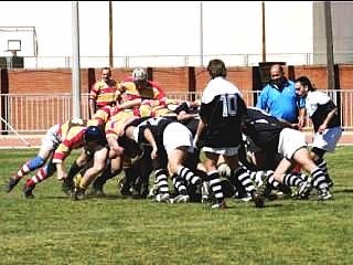 Blandford RFC Spain Game