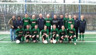 Cleeve west town fc team photo amsterdam