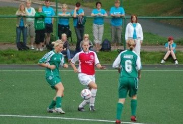 East End Blizzards in action at Gothia Cup