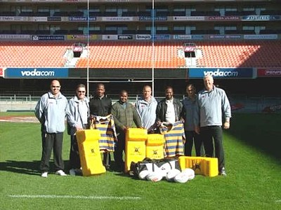 Upminster RFC Kit Donation South Africa