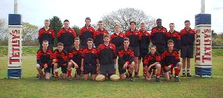 Exeter Saracens RFC Newquay Team