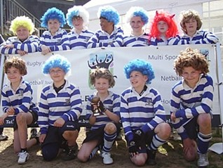 Aylestone St James Rugby Team Fancy Dress