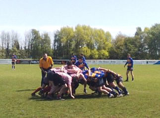 Middlesbrough RFC U15 Scrum