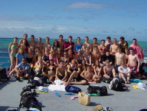 Chew Valley School at the Barrier Reef