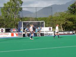 Chew Valley School playing hockey in Australia