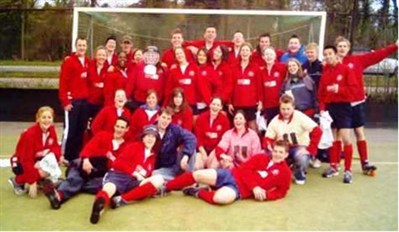 Strathclyde University HC Team Photo Holland