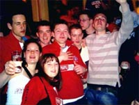 Strathclyde University night out Amsterdam