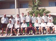 John Fisher School Barbados Team