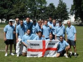 Swindon Village Team Photo Antwerp