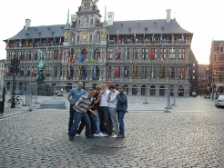 Sightseeing in Antwerp by Swindon Village FC