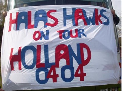Halas Hawks FC U14 tour to Holland flag