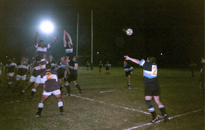 Rob Playing Rugby On Tour In South Africa